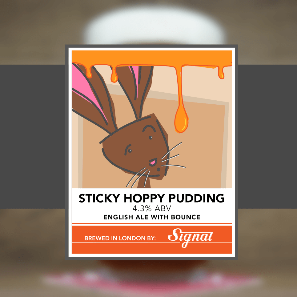 Sticky Hoppy Pudding